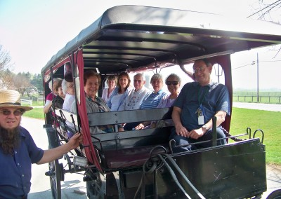 Winslow Gardens - A Horsedrawn Trolly Ride - July/August 2012