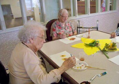 Linn Health Care Center - July/August 2012 - Sunflower Fun