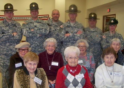 Winslow Gardens - Welcoming Home Our Heroes - February 2012